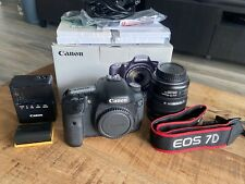 Canon EOS 7D Mk 1 Body + EF-S 15-85 IS USM   used but excellent working.