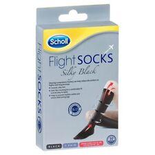Scholl Flight Socks Ladies Silky 6-8 - Black