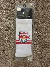 Men's Strideline MLS New York Red Bulls Premium Athletic Crew Socks, Free Ship!