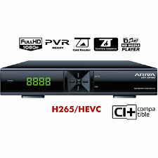 Ferguson ARIVA 254 Combo, H.265, CI+ DVB-S2, DVB-T2, DVB-C, HD Media Player, WEB