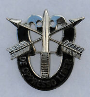 Early Double Skull Special Forces Distinctive Insignia Gemsco