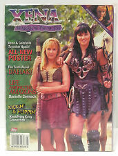 Vintage Xena Warrior Princess Official TOPPS Magazine #4- 56 Pages (E1135)