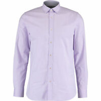 TED BAKER Men's Timeless Long Sleeve Shirt, Lilac, L / size 4