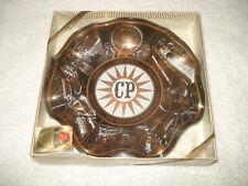 Vintage Cedar Point Amusement Park Glass Souvenir Ashtray Sandusky Ohio
