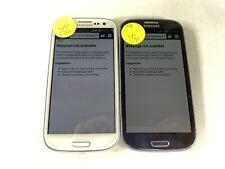 Lot of 2 Samsung Galaxy S3 L710 Sprint *Check IMEI*