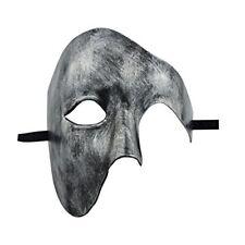 KEFAN Mens Mask Halloween Mask Phantom of the Opera Half Face Masquerade Mask S