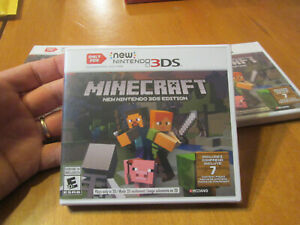 Minecraft: New Nintendo 3DS Edition New Nintendo 3DS BRAND NEW FACTORY SEALED