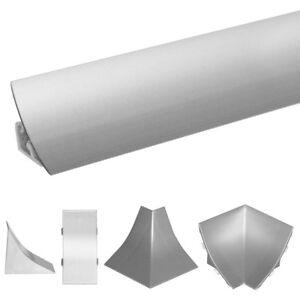 ABSCHLUSSLEISTE Winkelleiste Arbeitsplatte  Küche Wandabschlussleisten 23x23mm