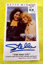 Stella ~ New VHS Movie ~ Bette Midler John Goodman Comedy ~ Sealed Video