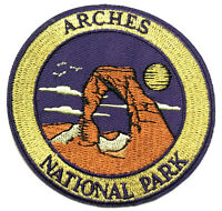 Arches National Park Embroidered Patch Iron/Sew-On Applique Travel Souvenir