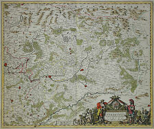 Lothringen - Exactissima Lotharingia ... - Carel Allard - 1690 - Frankreich