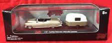 Malibu International 1:87 Ho Scale ~ Cadillac Eldorado 1953 with Caravan ~ New