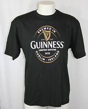 New GUINNESS Stout BEER HARP Limited Edition 2012 Dublin Ireland T Shirt Men XXL