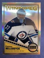 2019-20 OPC Platinum Retro Rainbow #R-39 Connor Hellebuyck Winnipeg Jets