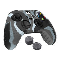 SIlicone Skin (Camo) and 2 x Thumb Grip Pack for Xbox Series X S Controllers