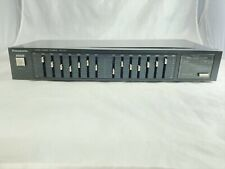 Panasonic SH-253 Black Dual-Channel 7-Band Stereo Graphic Equalizer Tested