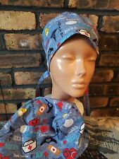Medical Nurses Rn Handmade Surgical Scrub Caps