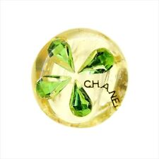 Chanel ring Yellow Green Gold plastic Woman Authentic Used T9194
