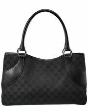 Gucci GG Lona Bolso de mujer negro