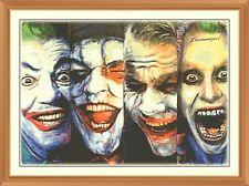 Joker-el aspecto cambiante nuevo cuadro de punto de cruz 12.0 X 8.4 pulgadas