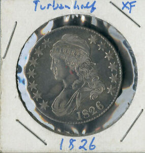 US Coin 1826 Silver Bust Early Half Dollar NO RESERVE!