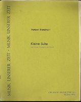 """Herbert Blendinger ,"""" Kleine Suite """", für Violine, Violoncello und Klavier"""