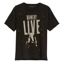 John Varvatos Star USA Men's Bowery Live Performance Graphic Crew T-Shirt Black