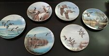 Danbury Mint, David Maass Duck Collector Plates, Set of 6