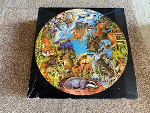 Vintage Waddingtons 500 piece Round Puzzle - Mammals