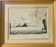 SALVADOR DALI Signed and Numbered lithograph 4/250