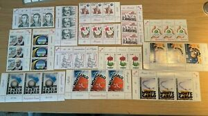 Monaco Stamps. 2008 Sets in strips of 3. All MNH.