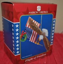 NEW American Greetings 10th ANNIVERSARY OPERATION SANTA FLIGHT  of FREEDOM Eagle