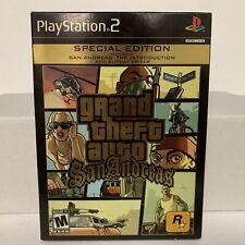 Grand Theft Auto San Andreas Special Edition Ps2 (Sony Playstation 2, 2005) Cib