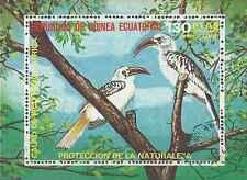 Timbre Oiseaux Guinée équatoriale o lot 3508