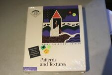Vintage Macintosh Software:  PATTERNS AND TEXTURES Adobe Collector's Edition NEW