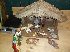 Christmas Nativity Scene Set Figures Figurines Baby Jesus