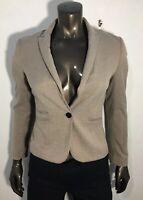 H&M Dress Suit Blazer Size 4 US Womens Long Sleeve Career Jacket