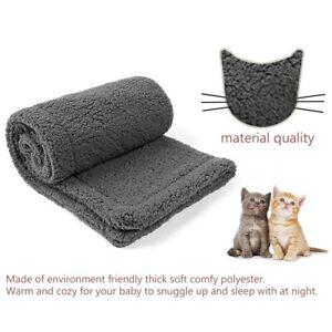 Premium Fluffy Blanket Fleece Mat Soft Warm Pet Supplies For Pet Sleeping wi