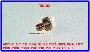 Solex-Vergaser,Hauptdüse,ADDHE,DDH,DDHT,PHH,PDSI,PDSIT,PIB,PICB,PIC,TDID uva.