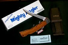 Schrade MA5 Knife & Sheath Mighty Angler Fillet 1980's W/Original Packaging Rare