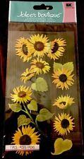 Jolee's Boutique Sunny Sunflowers Scrapbook Dimensional Stickers