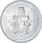 Better Date - 1964 Bermuda 1 Crown - SILVER *151