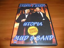 Utopia/Mud & Sand (DVD 2002 Full Frame) Laurel & Hardy Used And