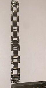 164 Swatch 17mm watch Strap Stainless Steel 'Queen Of Darkness'