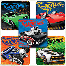 HOT WHEELS Stickers x 5 - Party Supplies, Reward, Favours - Classic Hot Wheels