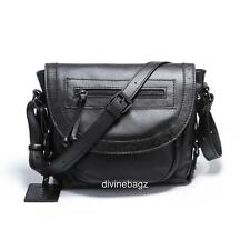New Lusso Genuine Italian Leather Handbag - Super Soft Black!