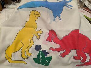 Vintage Dinosaur Pillowcase