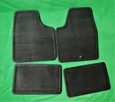 🔥 NOS 2006-2016 CHEVY IMPALA SS LTZ  FRONT & REAR FLOOR MATS BLACK  25795457