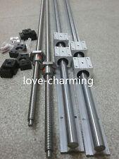 6 SBR20-300/700/1000mm rail &3 ballscrew RM1605-350/750/1050mm+3 BK/BF12 end kit