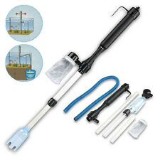 Aquarium Syphon Fish Tank Vacuum Gravel Water Filter Cleaner Powered by battery